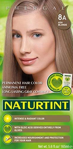 Naturtint Permanent Hair Color - 8A Ash Blonde, 5.6 fl oz (6-pack)