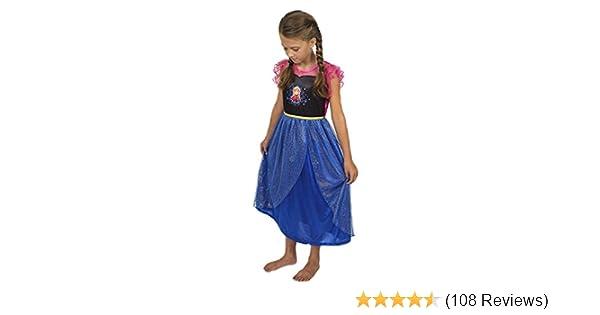 f4424b3e08 Amazon.com  Disney Girls  Princess Fantasy Nightgowns  Clothing