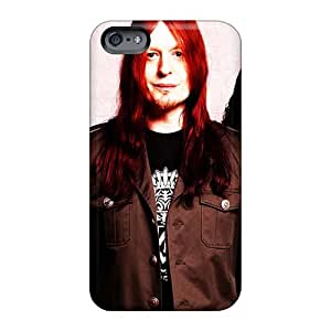 Scratch Protection Hard Cell-phone Cases For Iphone 6 (NXH3572mxNm) Unique Design Colorful Battlelore Band Image