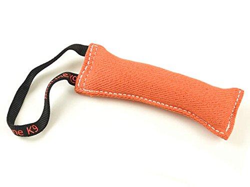 Orange Bite Suit Tug Toy  1 Handle - Redline K9