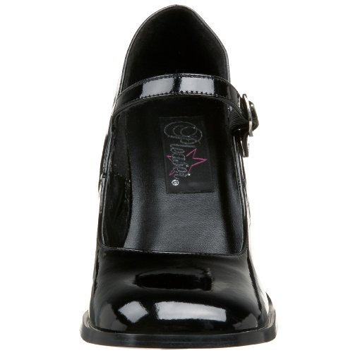 Pumps Toe WoMen Pat Gogo Black Blk Closed 50 Funtasma wUvxPIXqX