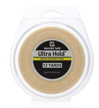 Tape Hair System (Ultra Hold 3/4 Inch x 12 Yards Authentic Walker Tape)