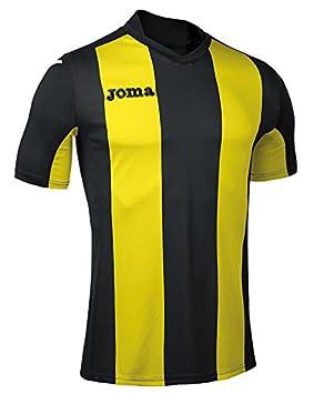 Joma Pisa Camiseta de Juego Manga Corta, Hombre: Amazon.es: Deportes y aire libre