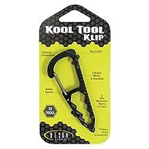 Bison Designs Kool Tool Klip SAE Standard Keychain (10-Piece), Grey