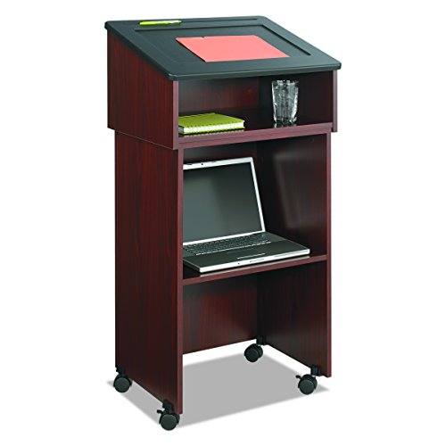 Safco Products 8916MH Table Top Lectern, (Optional Base 8917MH sold separately), Mahogany by Safco Products (Image #3)