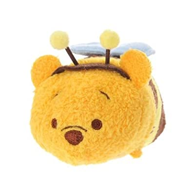 Tsum Tsum Plush Smartphone Cleaner Bee Pooh Small