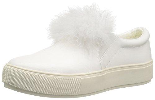 Penny Elsker Kenny Womens Arty Mote Sneaker Hvit