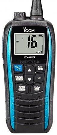 Icom ic-m25Euro VHF, Color Azul