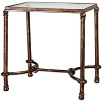 Uttermost 24334 Warring Iron End Table