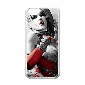 Funda iPod Touch 6 caso funda blanca de Batman Arkham G8E1SG ciudad xbox