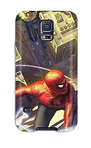 Amberlyn Bradshaw Farley's Shop TashaEliseSawyer Galaxy S5 Well-designed Hard Case Cover Spider-man Protector