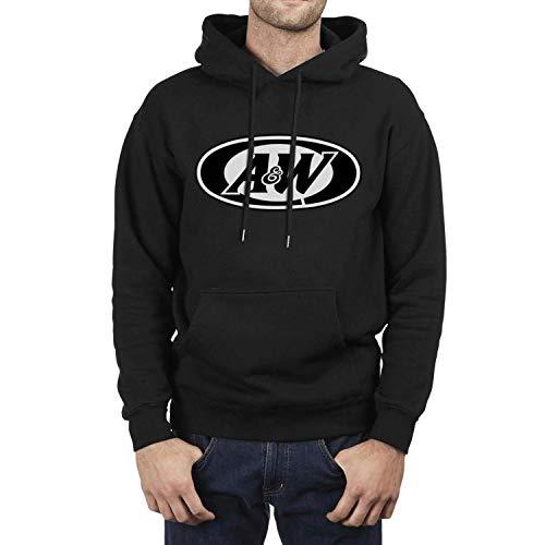 (jkthtr rtgjrtg Sweatshirt Vintage A&W-Root-Beer-Logo-A&W-Restaurants-hot-Dog- Hoodie for Men)