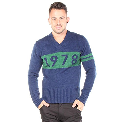 Diesel K-Omkar Sweater Sweaters L Blue Men