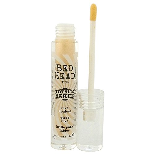 (TIGI Bed Head Luxe Lip Gloss for Women, Totally Baked, 0.11 Ounce )