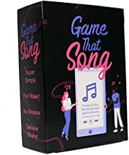 Game That Song - Music Card Game for Family, Adults, and Kids. Hilarious, Addictive, and Competitive Fun for G