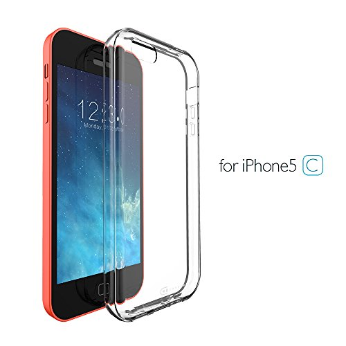 Case Army iPhone 5C | 5 C Clear Case [Manifest] Scratch-Resistant Slim Clear Case for Apple iPhone 5C | 5 C Soft Flexible Silicone Crystal Clear Shock-Dispersion Technology Cover with TPU Bumper