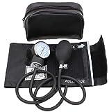 Aneroid Sphygmomanometer Blood Pressure Gauge - LotFancy Manual Blood Pressure Cuff with Zipper