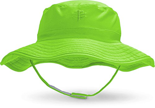 6baf1eb9e Coolibar UPF 50+ Baby Splashy Bucket Hat - Sun Protective (2T-3T- Lime  Green) - Buy Online in UAE. | Apparel Products in the UAE - See Prices, ...