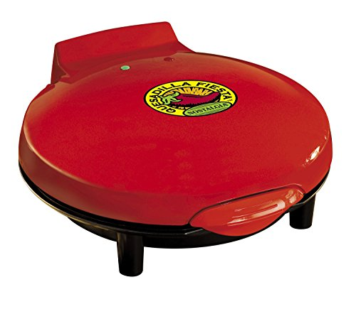 082677218063 - Nostalgia EQM200 Fiesta Series 6-Wedge Electric Quesadilla Maker with Extra Stuffing Latch carousel main 1