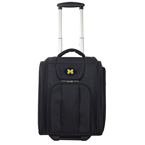 NCAA Michigan Wolverines Deluxe Wheeled Laptop Overnighter