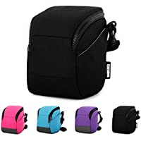 CAISON Camera Case Shoulder Bag For Compact System Mirrorless Camera Canon EOS M6 M5 M3 M10 PowerShot SX540 HS SX430 IS / SONY A6500 A6300 A6000 A5100 / NIKON 1 J5 COOLPIX B700 B500
