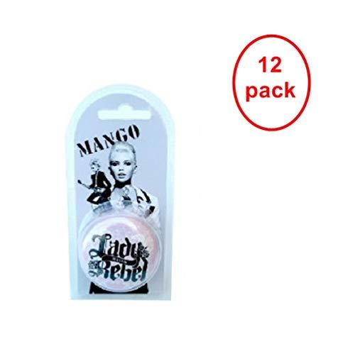 Mango Lady Rebel Lip Balm 15ml. Pack of 12