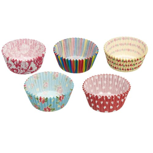 Kitchen Craft Sweetly Does It Muffin-Papierförmchen, 250 Stück sortiert