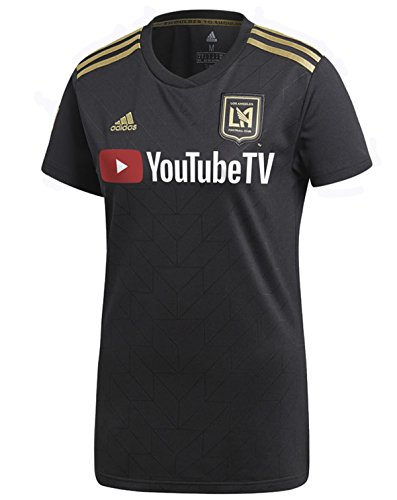 adidas Womens Los Angeles Football Club Home Stadium Jersey (Small)