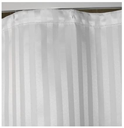 Tag Products Shower Curtain White Stripes Jacquard ,# 72 X 80 Inches ...
