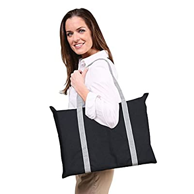 Portable Boost Cushion In A Bag - Black And Grey