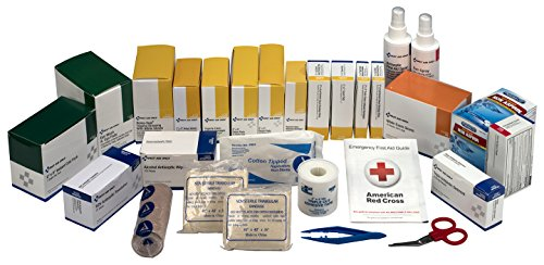 Pac-Kit by First Aid Only 6155R 489 Piece 3 Shelf First Aid Station Refill Kit, For 75+ (First Aid Refill Kit)