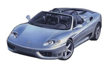 124 Ferrari 360 Spider Plastik Araba Maket Kiti Amazoncomtr