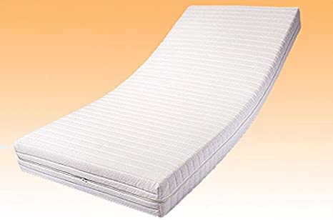 9 de Zonas de Espuma de núcleo de colchón 90 x 200 x 19 cm, dureza H1 (RG40), Funda Milano: Amazon.es: Hogar