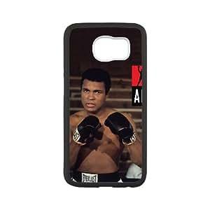 Muhammad Ali 001 Samsung Galaxy S6 Cell Phone Case White TPU Phone CaseRV_746199