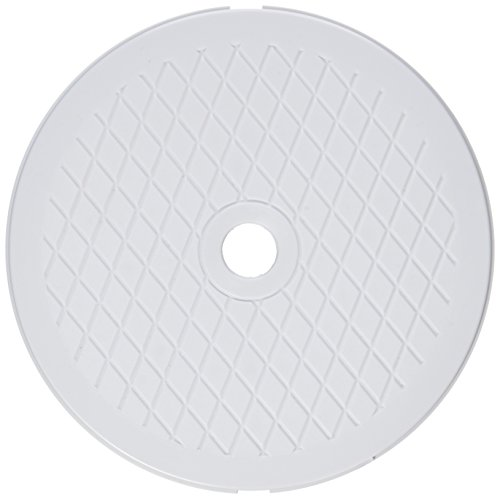 Pentair 513333 White Lid Replacement HydroSkim Pool and Spa - Pool Skimmer Lid Cover