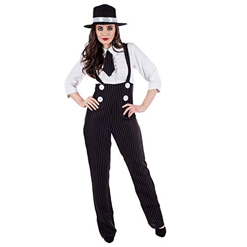 Gangster Outfits For Girls (fun shack Women's Gangster Dungeree Suit,)