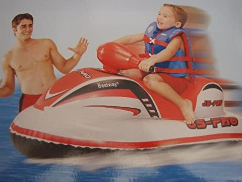 Jetski Pro - The Inflatable Jet Ski For Children Upto 45KG by Bestway - Inflatable Jet Ski