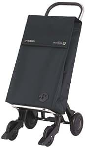 Rolser SBE001 Quattre 2 Sbelta - Carro para la compra, color negro