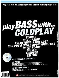 Play Bass With... Coldplay. Partituras, CD para Guitarra Bajo(Símbolos de los Acordes), Acordes Guitarra Bajo(Símbolos de los Acordes): Amazon.es: Instrumentos musicales