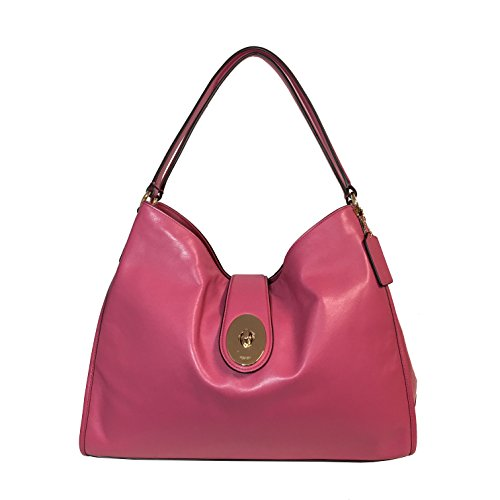 Coach Carlyle Shoulder Leather F37637