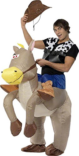 sc 1 st  Amazon.com & Amazon.com: Ride Em Cowboy Inflatable Adult Costume: Clothing