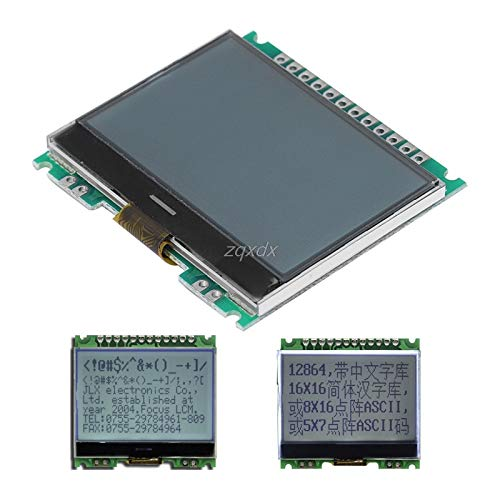 PrinceShop - 12864 128X64 Serial SPI Graphic COG LCD Module Display Screen Build-in LCM Z17 (Graphic Lcd Modules)