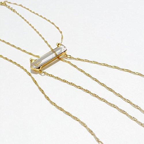 CassandraXO Crystal Body Chain by ZADAOFFICIAL