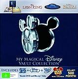 My Magical Disney Vault Collection - 8-Disc Box Set ( The Lion King / Beauty and the Beast / Bambi ) ( King of the Jungle / Beauty & the Beast / Walt Disney's [ Blu-Ray, Reg.A/B/C Import - Australia ]