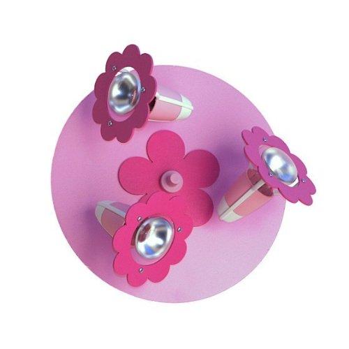 Blüte rosa 3er Deckenlampe elobra 123720