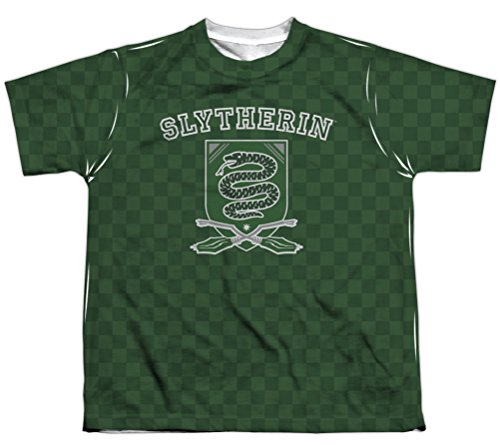 Kids Harry Potter Slytherin Quidditch Sublimation Shirt , Me