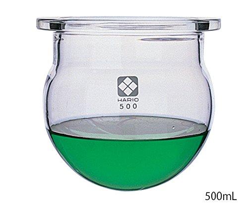 柴田科学1-7803-04セパラブルフラスコ丸形(平面摺合タイプ)2000mLφ170mm B07BD34531