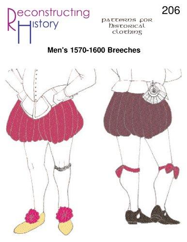 1570s-1600s Men's Breeches Pattern