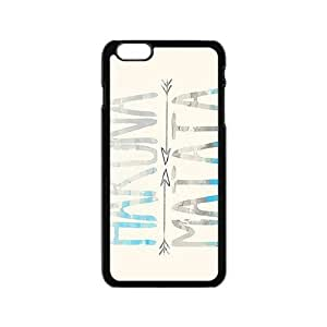 DAZHAHUI Hakuna Matata simple pattern Cell Phone Case for Iphone 6