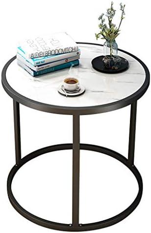Beste Authentiek LAMXF niertafel salontafel Moderne ronde bijzettafel, salontafel woonkamer sofa zijde, MDF-materiaal/stalen frame  VuUwOol